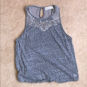 Abercrombie & Fitch Sequin Tank